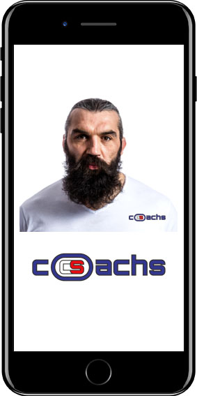 Concept Sport Application fitness Coachs by Sébastien Chabal