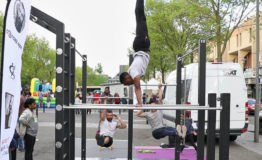 Démonstration et Initiation de Street Workout à Courcouronnes (91)