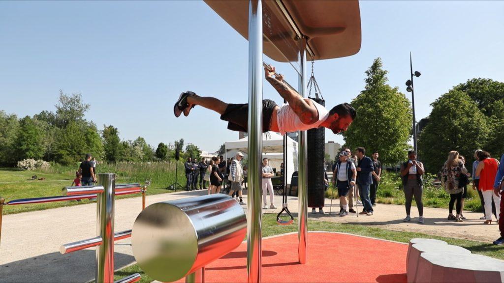 Inauguration de notre 2ème Station Sport Lib' à Achères le 27 mai