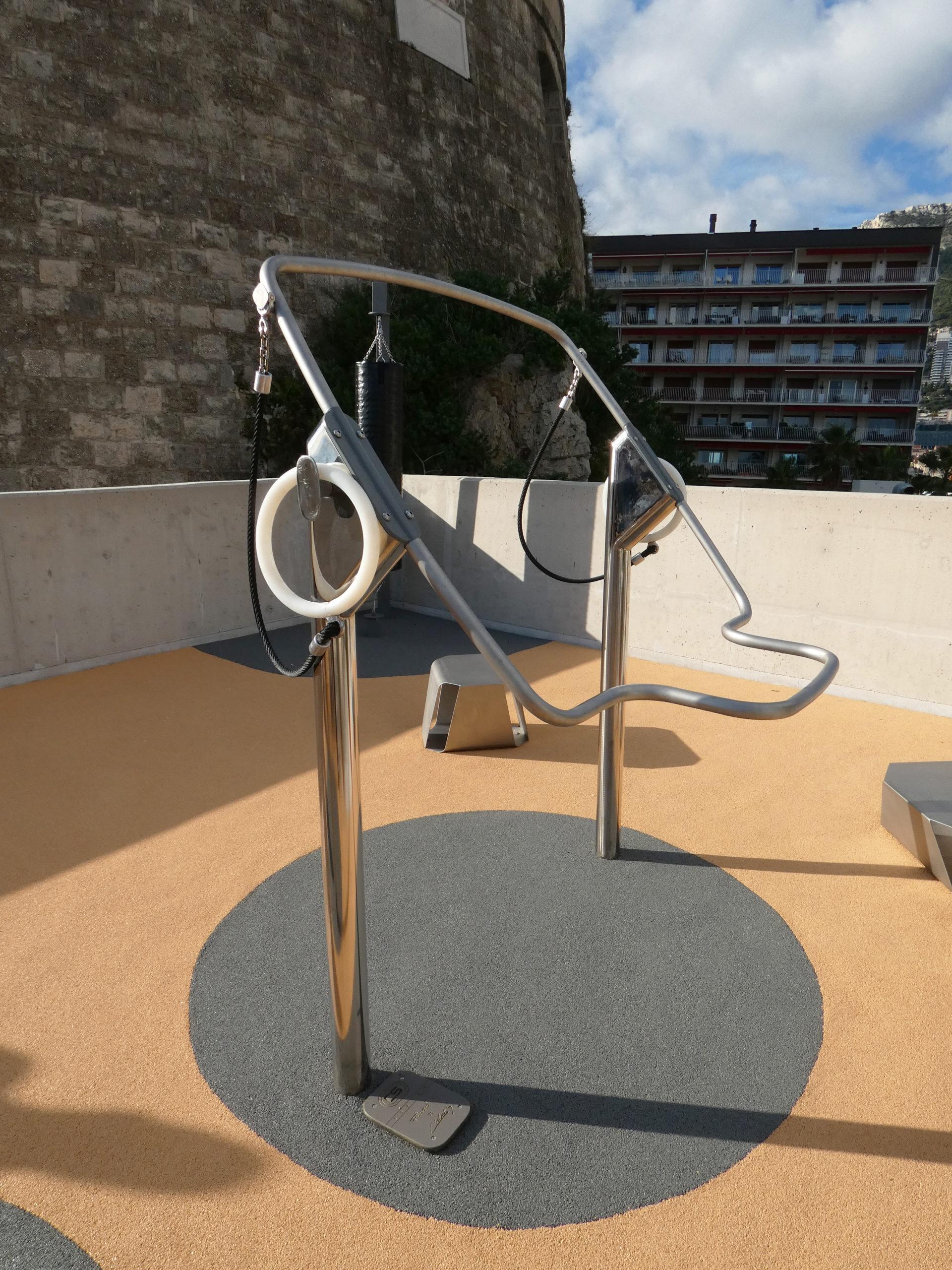 Plateforme de fitness - Port-Hercule